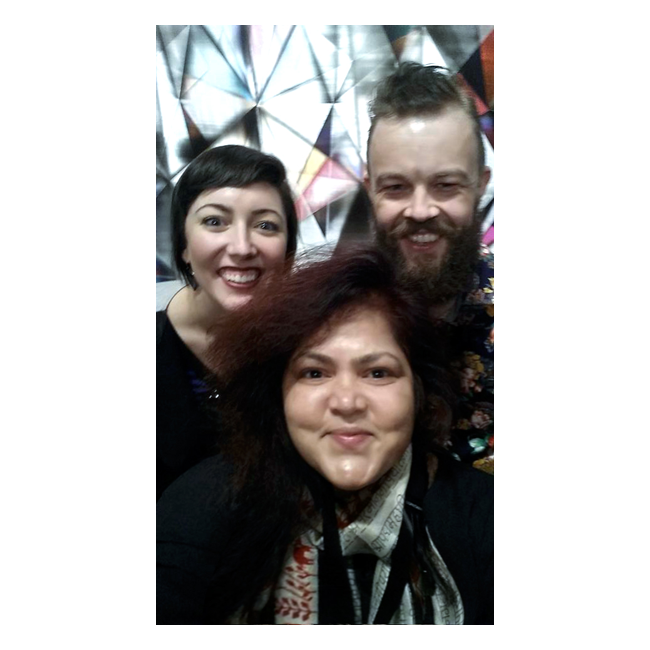 With Margo Joy Hawk and Jason Hawk
