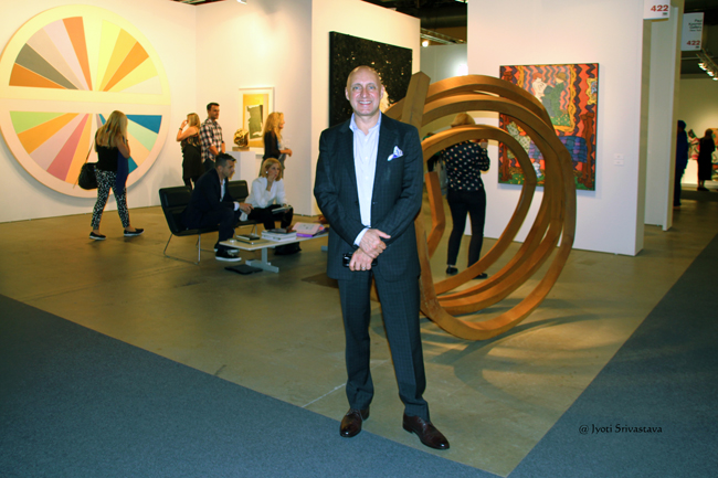 Tony Karman,  President and Director of EXPO Chicago.