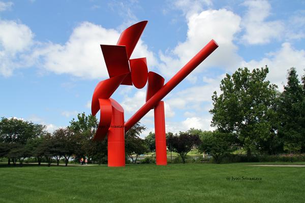 Symbol - by Alexander Liberman