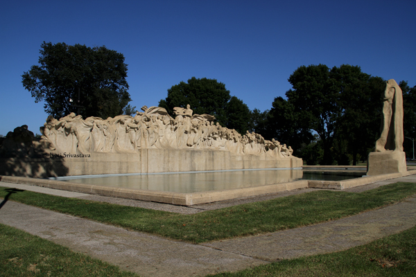 The Fountain of Time - by Lorado Taft