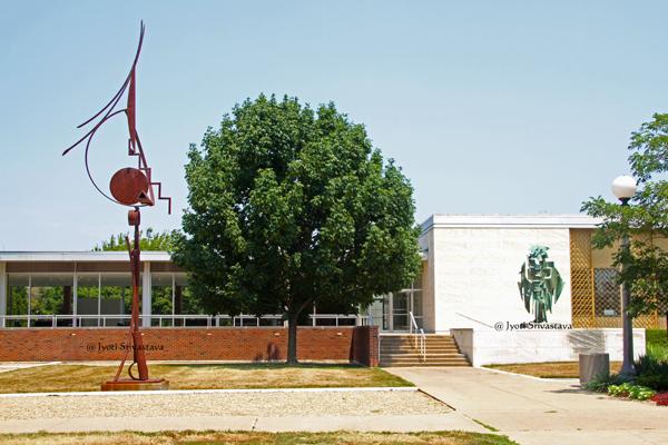 Krannert Art Museum, Urbana.