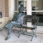 Mark Twain - by Gary Lee Price / Batavia Public Library.