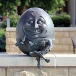 Mr. Egghead - by Kimber Fiebiger / Batavia Public Library