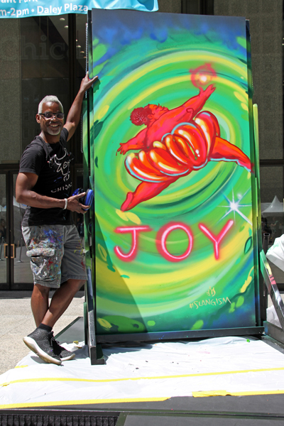 Joy - by Tyrue Slang Jones