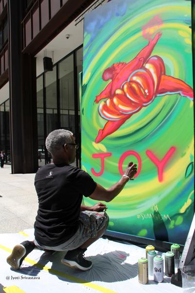 Joy - by Tyrue Slang Jones