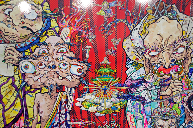 Isle Of The Dead [2014] - by Takashi Murakami