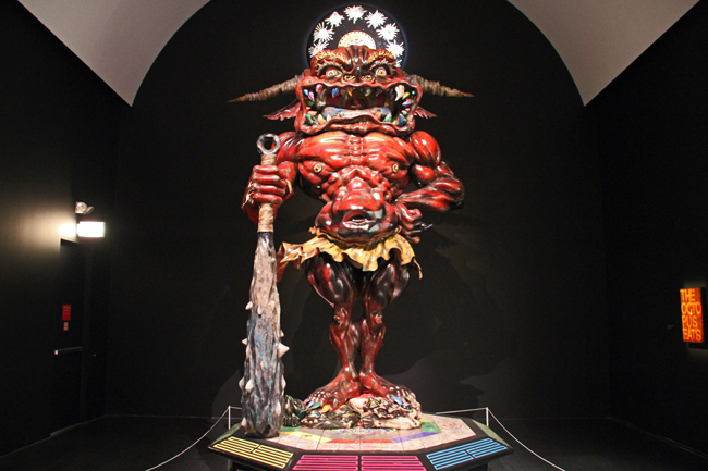 Demon sculpture - Takashi Murakami