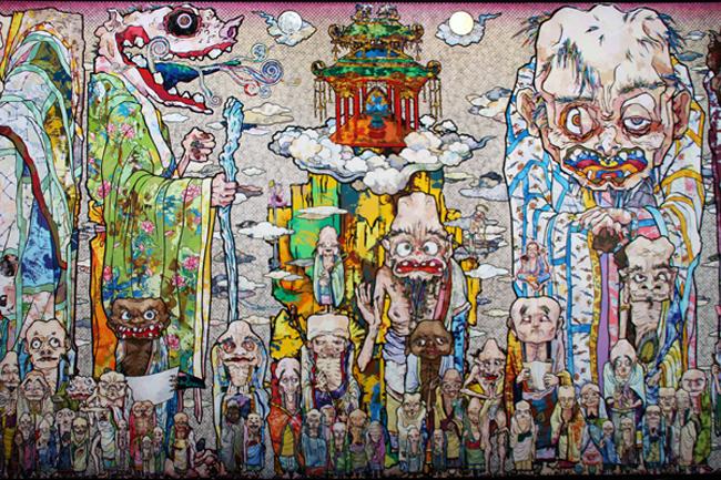 100 Arhats [2013] - by Takashi Marakami