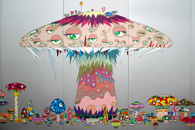 Super Nova [1999] - by Takashi Murakami.