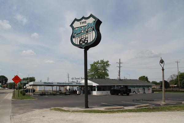 The Roue 66 Shield / Braidwood, IL.