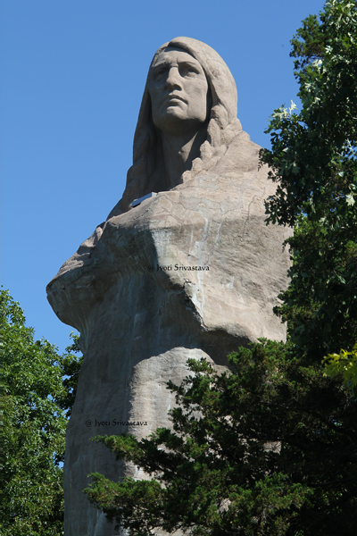 The Eternal Indian - by Lorado Taft