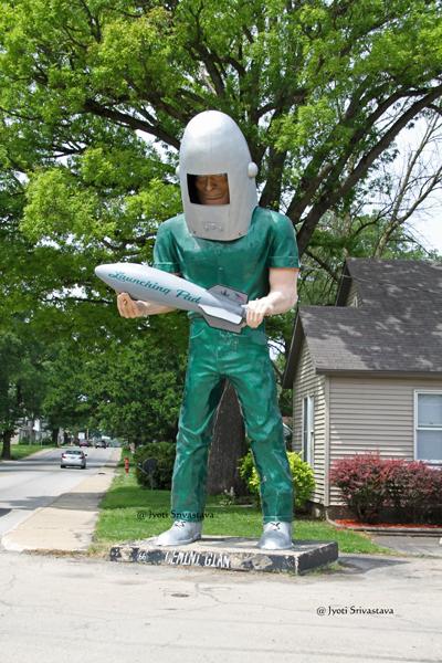 Gemini Giant, Wilmington, IL.