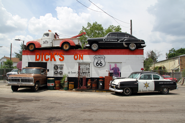 Route 66, Joliet, IL.
