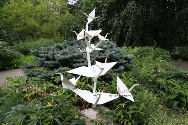 Origami in the Garden / Morten Arboretum