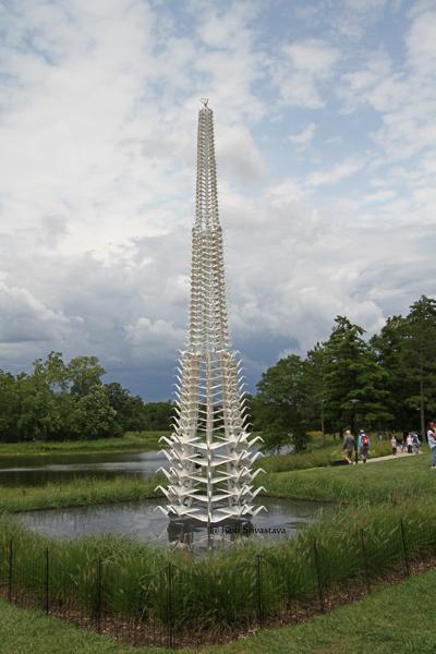 Master Peace / Origami in the Garden / Morten Arboretum
