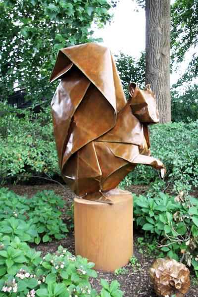 Origami in the Garden / Morten Arboretum
