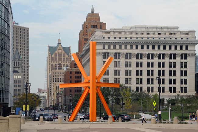 The Calling - by Mark di Suvero