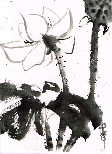 Lotus - by Patricia Larkin Green