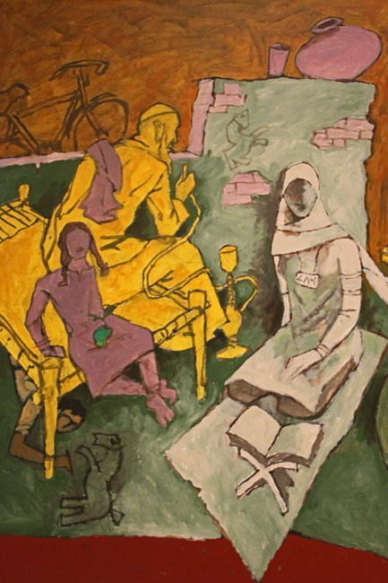 Indian Civilization series - by M.F. Husain