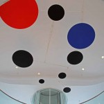 Red, Black, and Blue – by Alexander Calder / MAM.