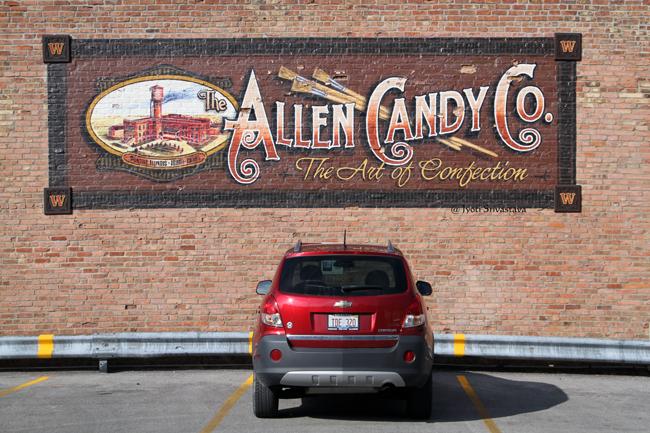 Allen Candy Co. - by Jay Allen / Mural Tour, Pontiac