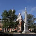 Livingston County Civil War Memorial.