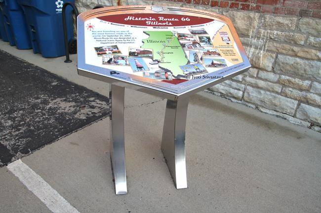 Route 66 Wayside Exhibit