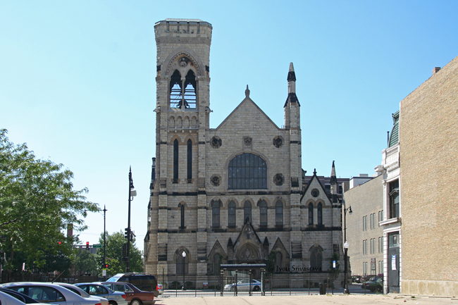 Extermal Ornamentation / Second Presbyterian Church