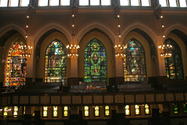 Nave - South wall / Second Presbyterian Church