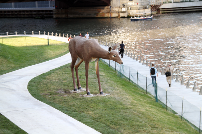 Deer - by Tony Tasset.