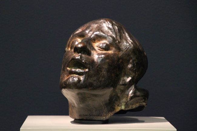 Head of Sorrow - by Auguste Rodin