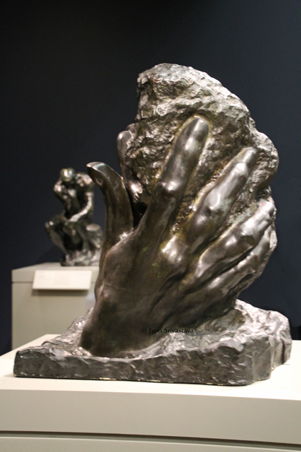 Hand of God - by Auguste Rodin