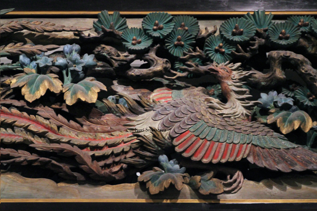 Panel I - Details / Panels from the Phoenix Hall  - by Takamura Koun