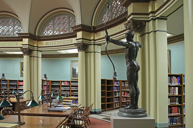 Franke Reading Room / Art Institute of Chicago