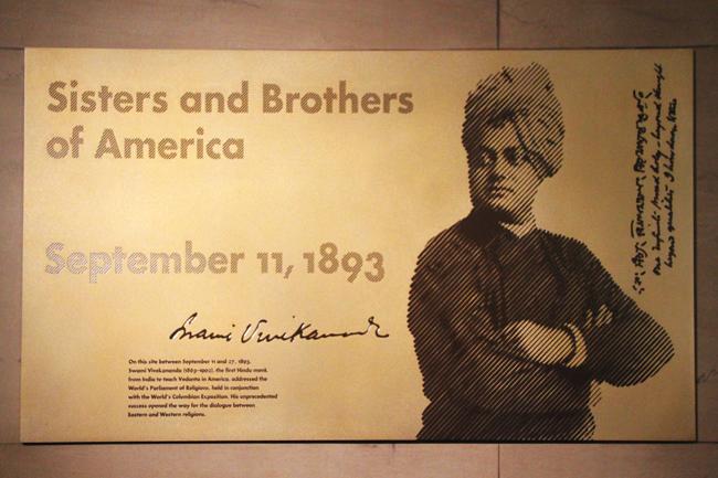 Swami Vivekananda in Chicago, September 1893