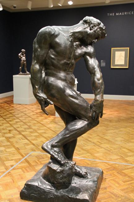 Adam - by Auguste Rodin