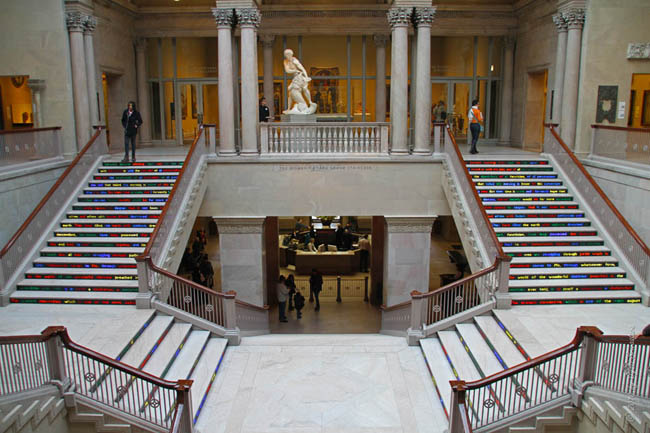 Grand Staircase at the Art Institute of Chicago