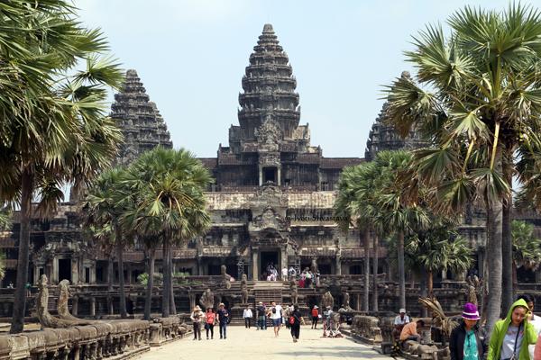 Angkor Wat  / Siem Reap, Cambodia.