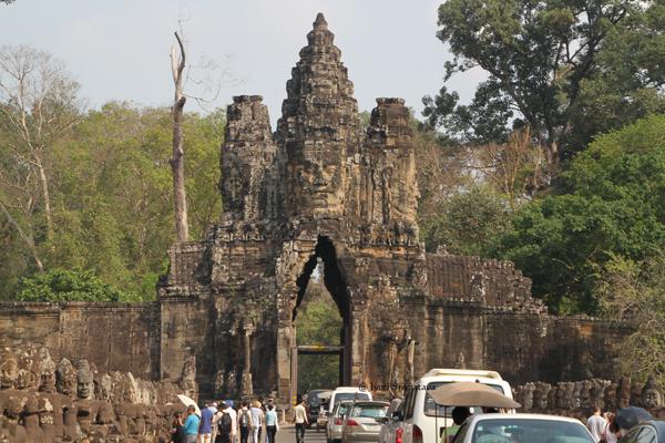 Gates of Angkor Thom / Siem Reap, Cambodia.