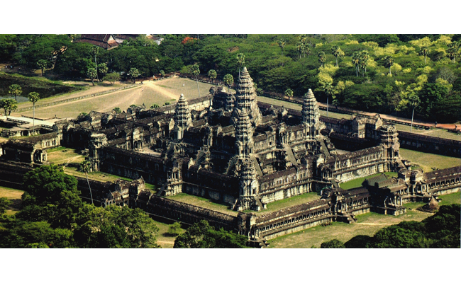 Angkor Wat  / Siem Reap, Cambodia./ Image: Picture postcard.