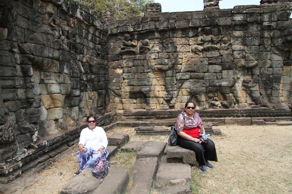 Elephant Terrace - Angkor Thom  / Siem Reap, Cambodia