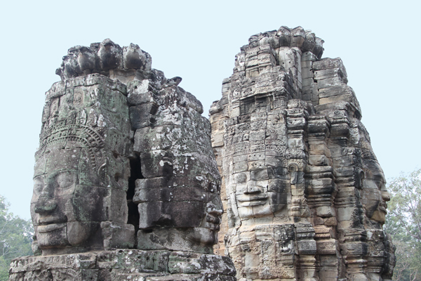Face Towers of Bayon / Siem Reap, Cambodia.