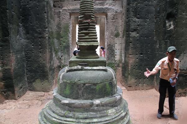 Stupa - Preah Khan / Siem Reap, Cambodia.