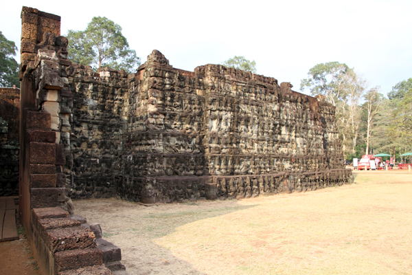 Terrace of Leper King / Siem Reap, Cambodia.