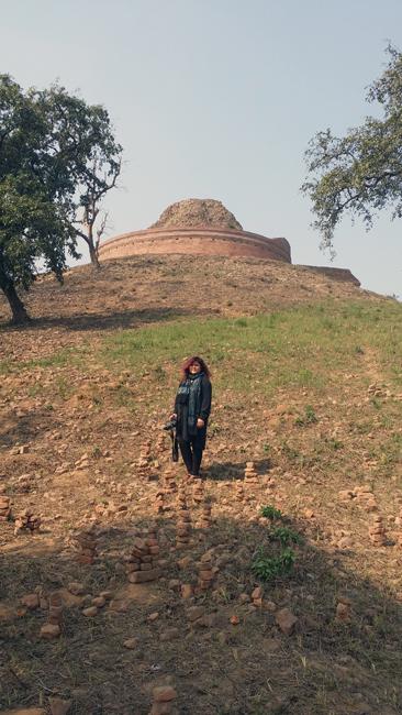 Kesaria, Bihar, India.
