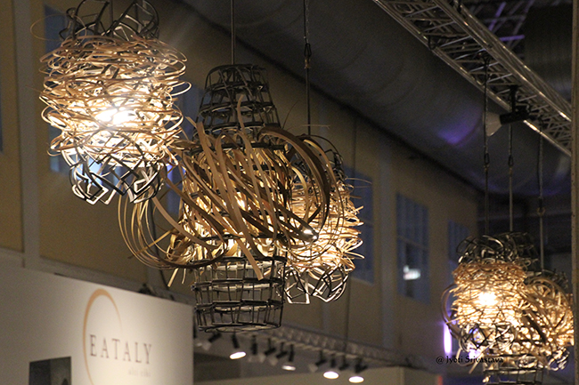 ables by Dorchester Industries and Luminescence Light Installation [by Lucy Slivinski / 2018 EXPO Chicago.