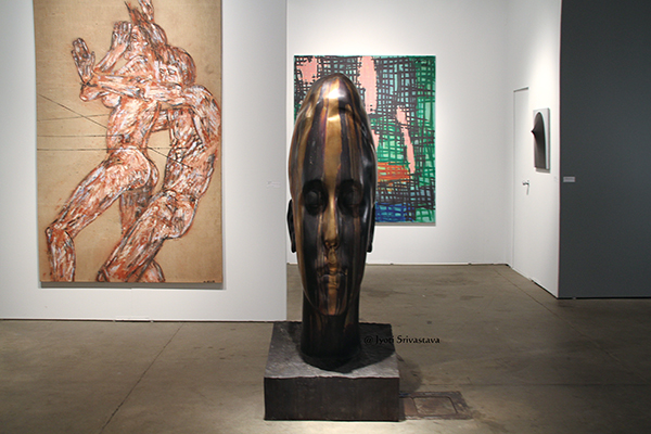 Marianna - by Jaume Plensa / Galeria Lelong / EXPO Chicago
