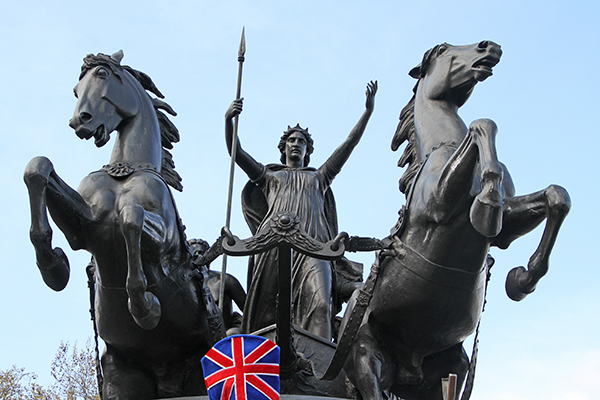 Boadicea Monument - by  Thomas Thornycroft