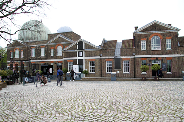 Greenwich Meridian Courtyard