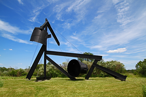 Yes! For Lady Day - by Mark diSuvero